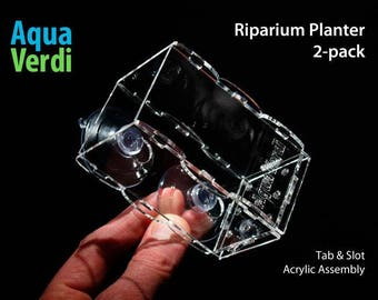 Aqua Verdi Riparium Planter 2-pack