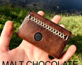 Billet Box REV4 Genuine Leather Cases