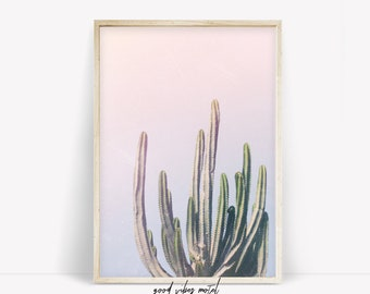 Cactus Print, Cactus Wall Art, Succulent Poster, Desert Print, Botanical Print, Desert Decor, Nature Photography, Cactus Poster