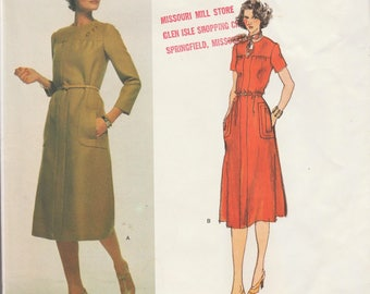 Vogue 1531 / Vintage Designer Sewing Pattern By Sybil Connolly / Dress / Size 18 Bust 40
