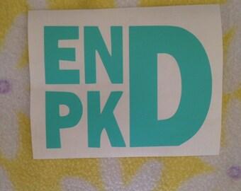 END PKD declal
