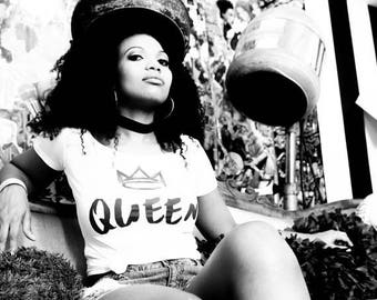Claim Your Crown 'Queen' Tee