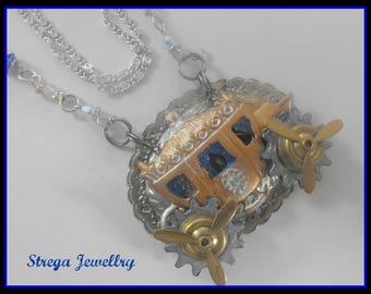 Cinderella Necklace Fantasy Storybook