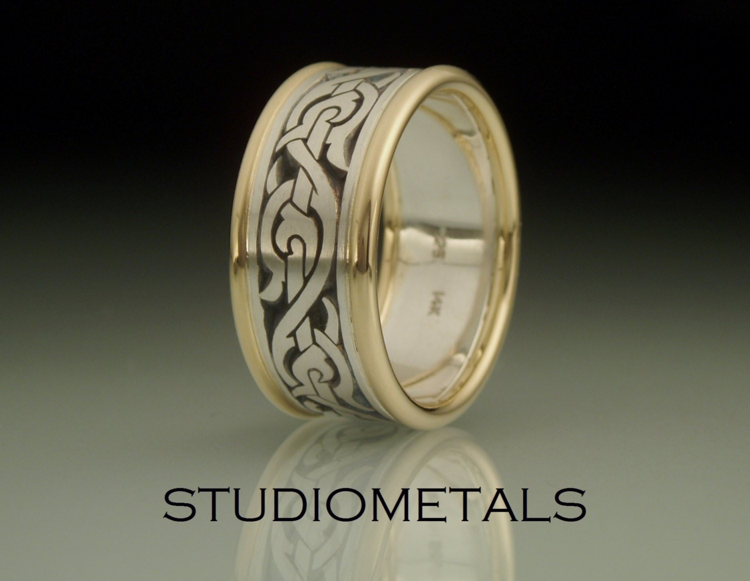 silver wedding gold band unique viking of inspirational beautiful idea mens nordic rings norse