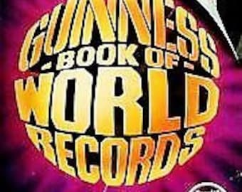 Guinness World Records 1985 Edition - Good Condition