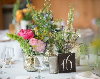 Wedding Table Number | Table Numbers | Table Number | Table Number Wedding | Wedding Decor | Rustic Wedding | Wedding Table | Gold - TB-1