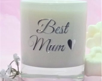 personalised candle gift,Mum gift, Gift for Mum,Mothers day gift, , sentimental gift, birthday gift, scented soy candles,handmade