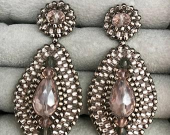 """Elegant Handmade Earrings-""""LOVEBIRDS"""""""