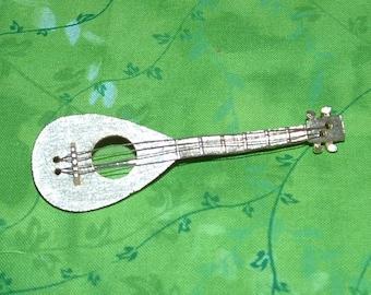 J J marked Mandolin brooch