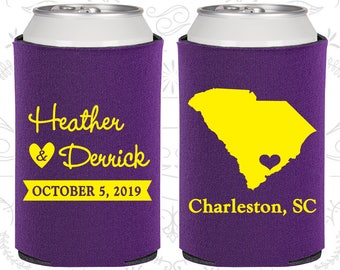 Purple Wedding, Purple Can Coolers, Purple Wedding Favors, Purple Wedding Gift, Purple Wedding Ideas (139)