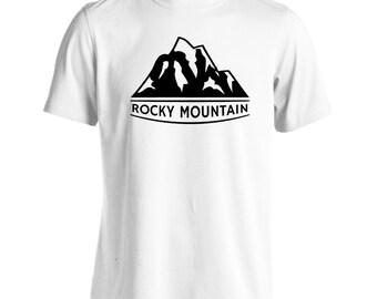 Rocky mountain camping Men's T-Shirt v287m