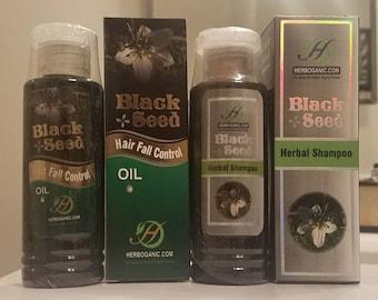 Black Seed* Hair Care - Shampoo & Hair Oil* Bundle