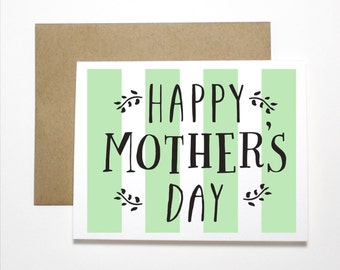 Mother's Day Card- Happy Mother's Day