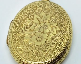 Circa 1930 Rolled Gold Locket