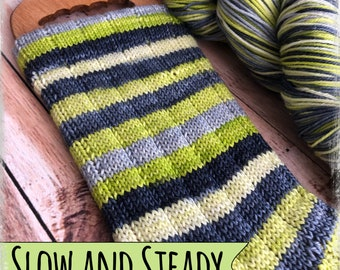 New!!! PRE-ORDER - Slow & Steady - Self Striping - Ships in TWO weeks!!