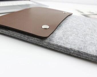 "Felt Macbook Pro 13.3"" sleeve, Macbook 13"" sleeve, Macbook 13.3"" case, Macbook Pro Case, Macbook Pro Sleeve Laptop sleeve macbook case 018LG"