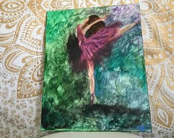 Feathery ballerina