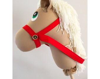Handmade Palomino Hobby Horse Pony