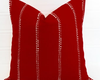 Red pillows Etsy