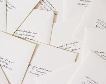 Calligraphy Wedding Envelopes   Envelope Calligraphy   Calligraphy wedding invitation