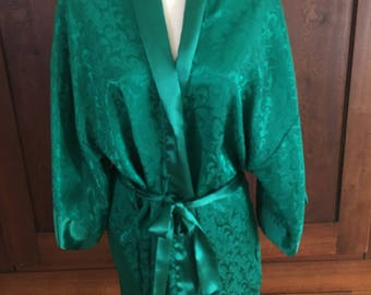 One Size / Victoria's Secret / GOLD LABEL / Robe / Green / Vintage / One Size Fits All