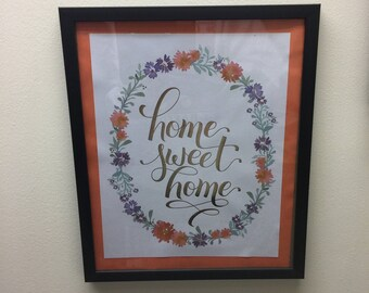 Wall Decor- Home Sweet Home