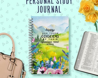 Personal Study Notebook | JW Gifts | Pioneer Journal | Jehovah's Witnesses | JW | Pioneer Workbook | Jw Notebook