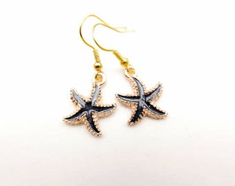 Starfish Earrings, Gifts Under 10