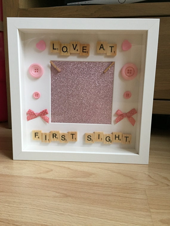 New baby girl frame, scan photo frame, scan picture frame, it\'s a ...