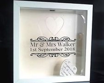 Wedding Wishes Drop Box Alternative Guest Book