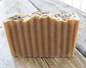 Vegan Olive Oil Soap, Natural Handmade Bar Soap, Lavender Scented, Made in USA