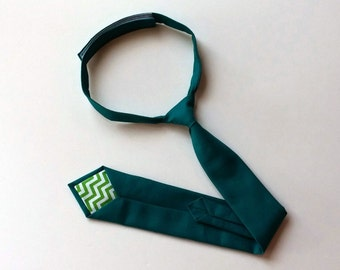 Dark Teal Necktie - Skinny or Standard - Infant, Toddler, Boy  -             2  weeks before shipping