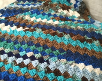 Baby Blanket: Snow Capped Mountains