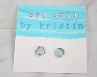 Bristol Harbor Stud Earrings