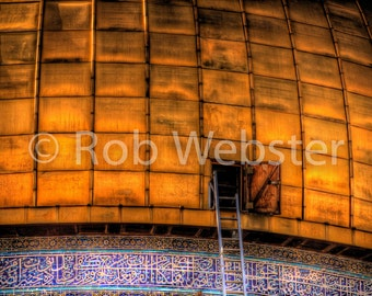 Dome of the Rock 3, 8x10 Fine Art HDR Israel Photo