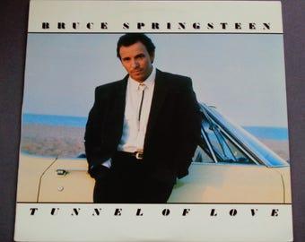 """Bruce Springsteen - Tunnel der Liebe - """"Brilliant Disguise"""" - """"Härter als der Rest"""" - Columbia Records 1987 - Vintage Vinyl-LP aufzunehmen Album"""