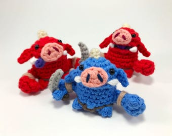 Marionnette à doigt au crochet de Bokoblin de The Legend of Zelda