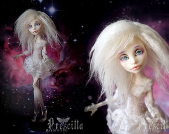 White Wig Monster Doll High Fashion for girls and boys