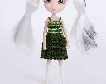 Ctochet dress for  mini Shibayuku . Shibayuku -cutie