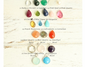 Add A Briolette or Additional Briolette Stone to Your Necklace or Bracelet Purchase... Not for Separate Sale