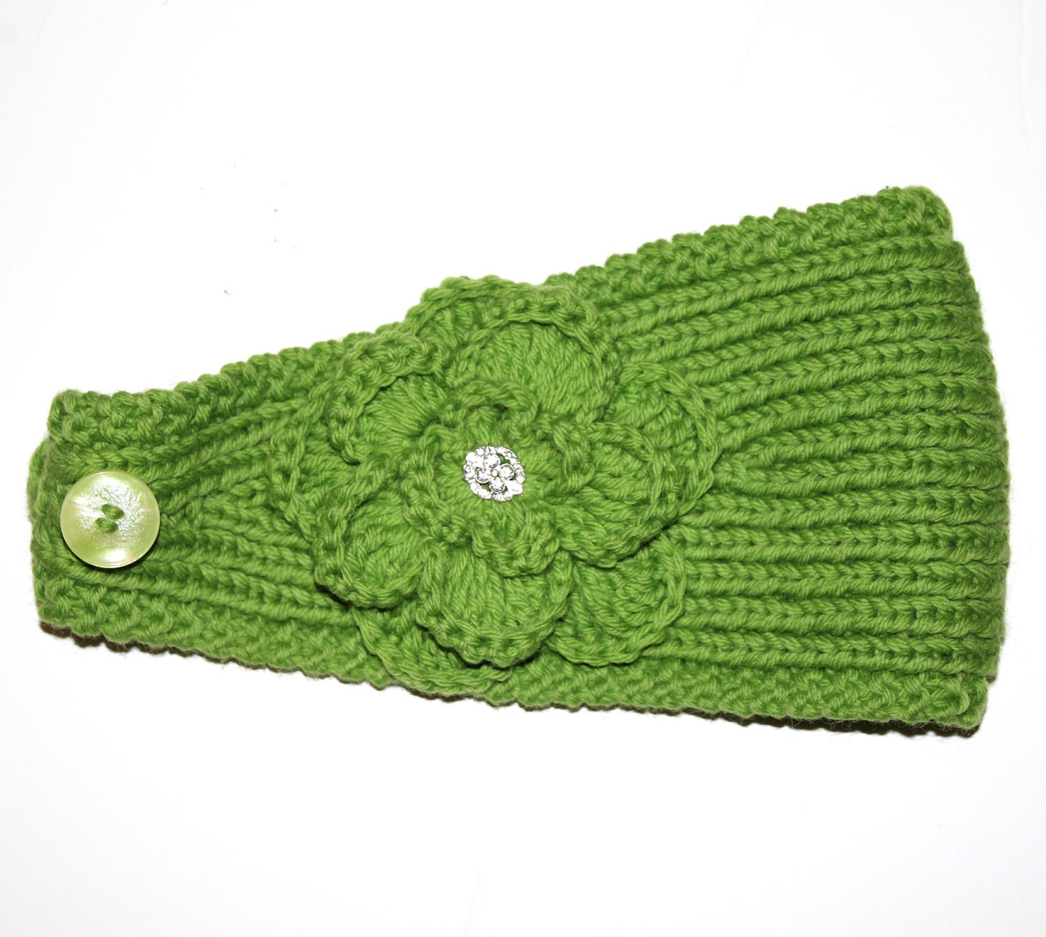 PATTERN Knitting Pattern Headband with Crochet Or Knitted