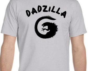 DADZILLA. Father's Day Mens T-shirt.