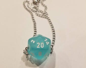 D&D Dice Necklace