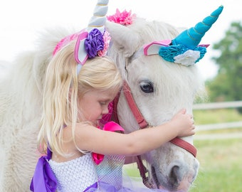 Unicorn Birthday Outfit , Unicorn Headband , Unicorn tutu dress, Unicorn horn headband, Unicorn Party Dress, Unicorn Horn, Unicorn Costume