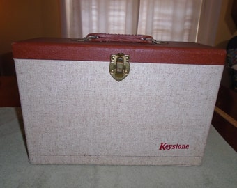 Vintage file case. Letter file. letter case. keystone letter case. Keystone letter file. Keystone. Case. Carrying case.