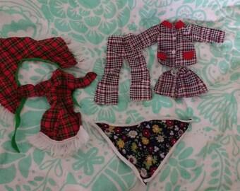 SALE Vintage Sindy doll clothes clone lot
