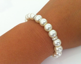 Popular Pearl Bridesmaids Bracelet Gift
