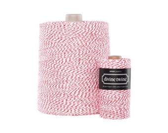NEW** Red and White Divine Twine X