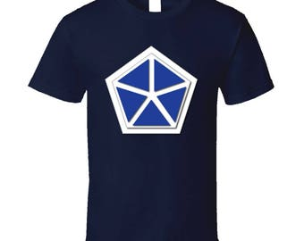 Army - V Corps - Wo Txt T-shirt