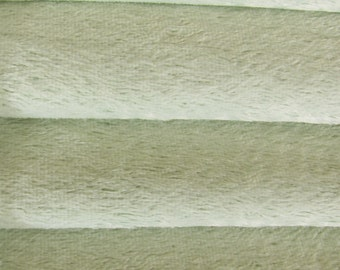Quality VIS1 - Viscose -1/4 yard (Fat) in Intercal's Color 735S-Mint. A German Viscose Fur Fabric for Teddy Bear Making, Arts & Crafts